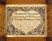 birth certificate for maryann thomas by wilhelmus antonius faber