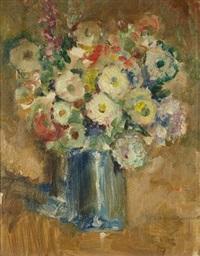 bouquet de fleurs by josé cruz herrera
