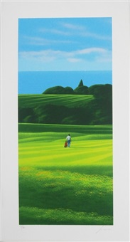 golf subjects (9 works) by daniele fissore