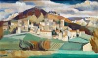 paysage de la drôme by andré lhote