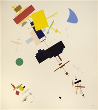 composition suprématiste by kazimir malevich