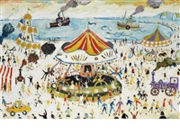 fair at penzance by simeon stafford
