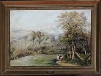 cathcart castle by samuel bough