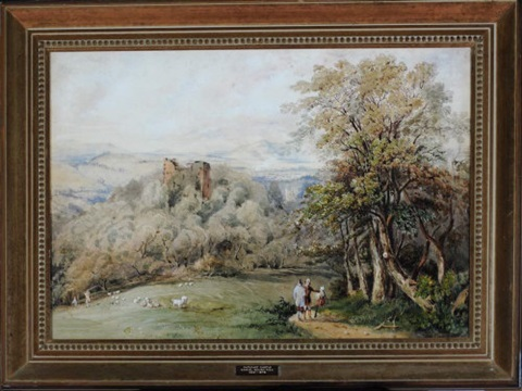cathcart castle by samuel bough