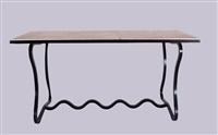 console table, dit trèfle by jean royère