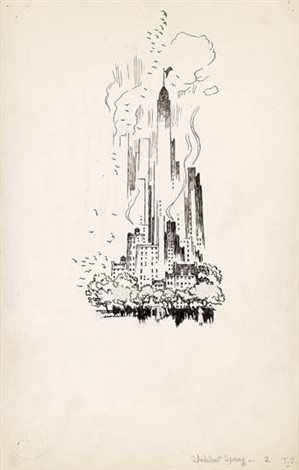 awake, america! (+ enchanted brittany; 38 works) by thornton oakley