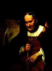 a classical poet (homer?) by johann ulrich mayr