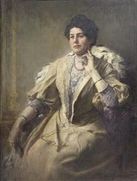 ritratto della signora emma waitzfelder by wilhelm karl räuber