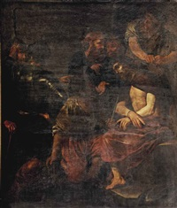 the mocking of christ by michelangelo merisi da caravaggio
