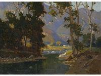 in the arroyo seco by elmer wachtel