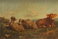 moutons et veau by françois simon
