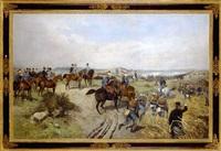 kaiser franz joseph i. auf dem manöverfeld by thaddaus von ajdukiewicz