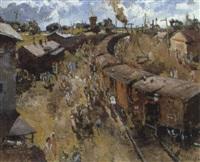 la petite gare by serguei manouylov