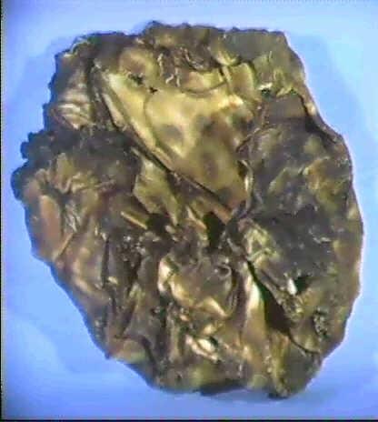 cratere pvc bruciato e frantumato by topy labrys