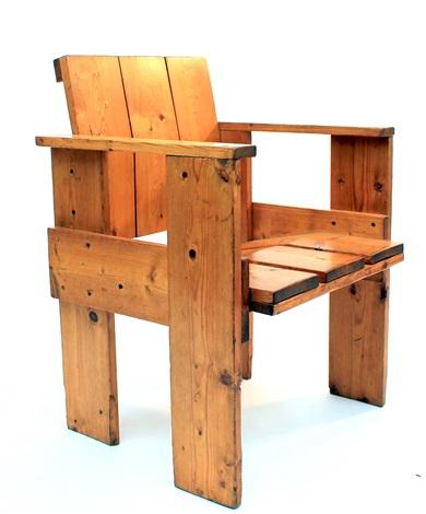 An U0027albatrosu0027 Crate Chair By Gerrit Rietveld