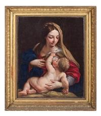 madonna col bambino by carlo maratta