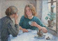 l'heure du thé by emile ancelet