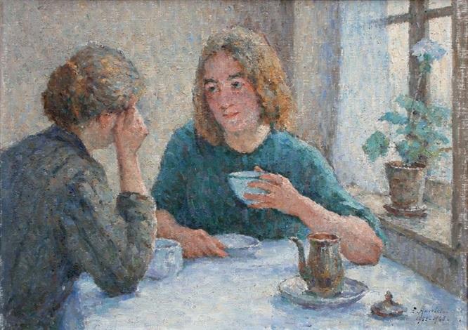 lheure du thé by emile ancelet