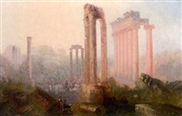 the forum, rome by sydney herbert