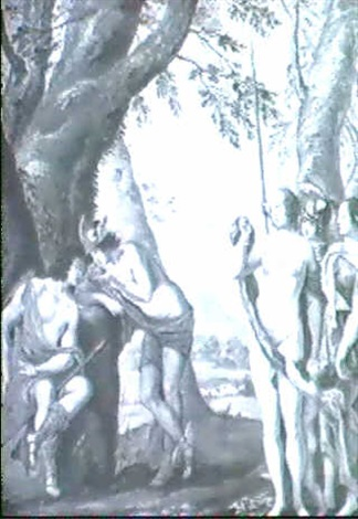 the judgement of paris in the manner of wolfgang heimbach by richter