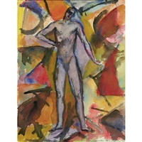 standing nude by max zachmann