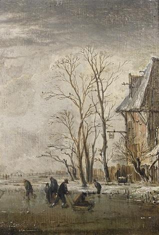 paysage dhiver by aert van der neer
