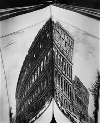book: the coliseum by piranesi #2 by abelardo morell