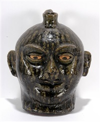 toothless face jug by lanier meaders