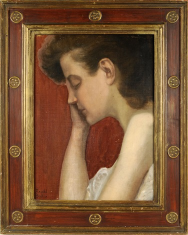 portrait de jeune fille by arnold böcklin the elder