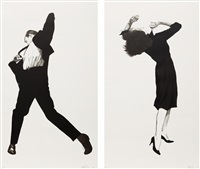 eric (+ ellen; 2 works) by robert longo