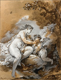 vénus et l'amour by simon julien