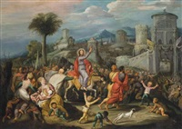 the entry into jerusalem (collab. w/workshop) by simon de vos