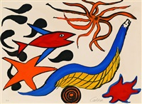 sea creatures by alexander calder