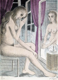 les dessins de paul delvaux (bk w/1 work) by paul delvaux