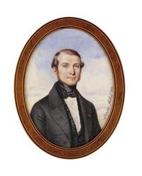 a young gentleman in grey coat by sophie antoinette filhol