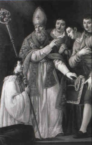 st thomas of villanueva giving alms by domenico corvi