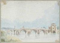 pont sur le tibre by alexis nicolas perignon the elder