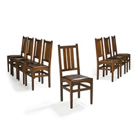 dining chairs (set of 8) by harvey ellis