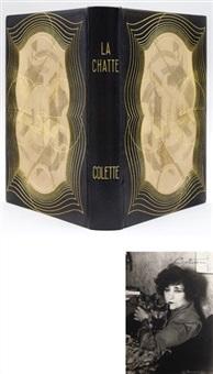 la chatte (bk by sidonie-gabrielle colette w/10 works) by germaine marguerite de coster
