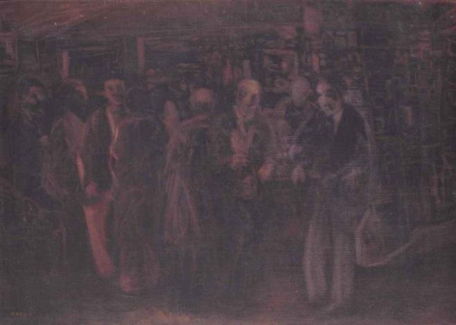 scène de bistrot by farid aouad