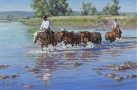 crossing to grener pastures by sonya terpening