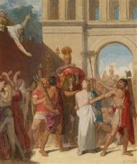 the martyrdom of st. symphorian by jean-auguste-dominique ingres
