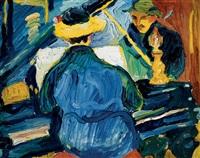 by the piano by madeleine kemeny-szemene
