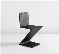 zig zag chair (from the where there's smoke series) by maarten baas