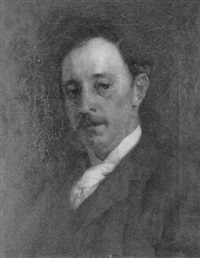 portrait of mr john j. himan by tudor st. george tucker