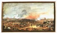 bataille de la moskova by jean-baptiste cazin