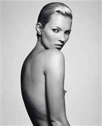 kate moss, little nipple by rankin