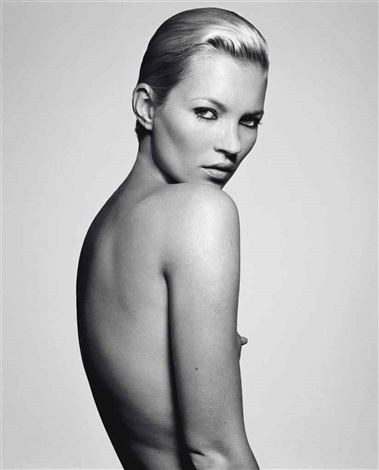 kate moss little nipple by rankin