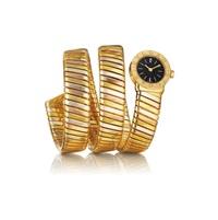 tubogas lady's wristwatch by bulgari