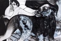 desnudo con perro by julio martinez howard
